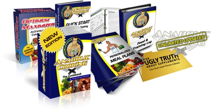 Muscle with Anabolic Cooking